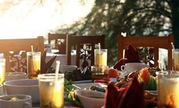 Frangipani Candlelight Dinner