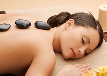 Grounding River Stone Massage