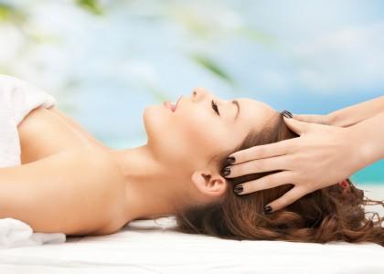 Scalp Massage & Frangipani Hair Mask